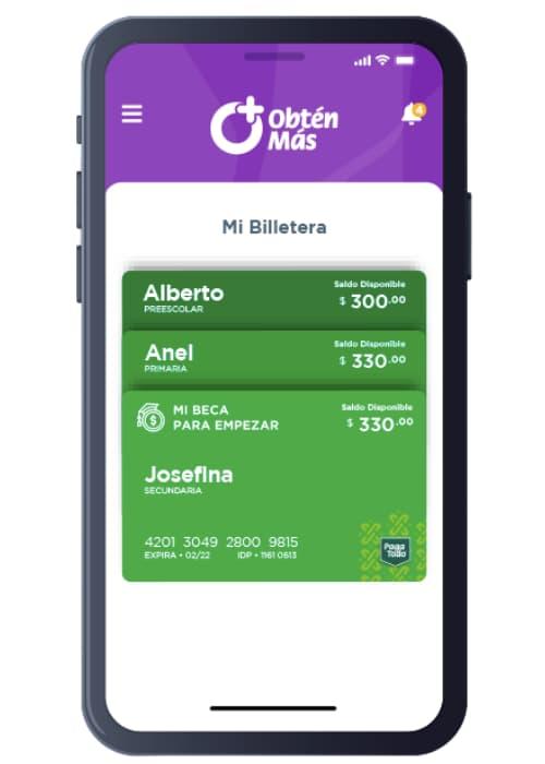App móvil del programa Mi Beca para Empezar