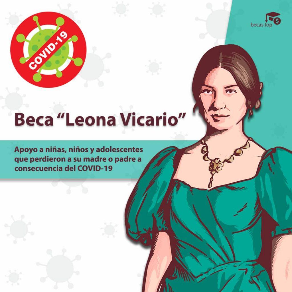 Beca Leona Vicario Covid-19