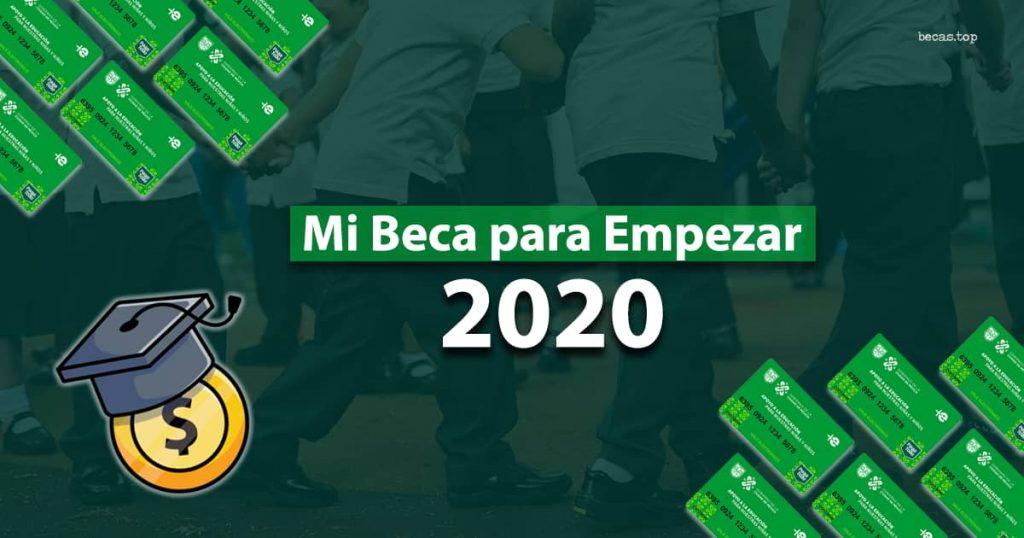 FIDEGAR, Mi beca para empezar 2020-2021