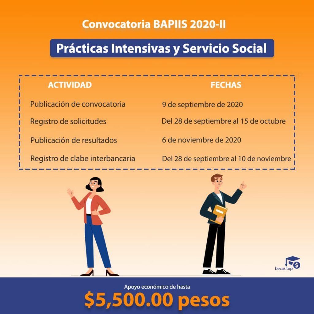 Registro y convocatoria BAPISS 2020