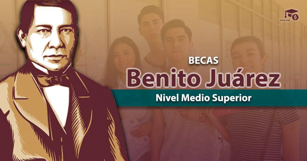 Beca Benito Juárez medio superior