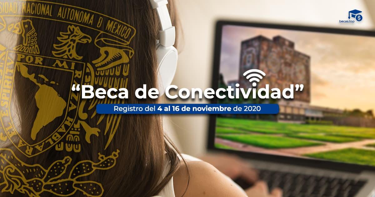 beca conectividad UNAM