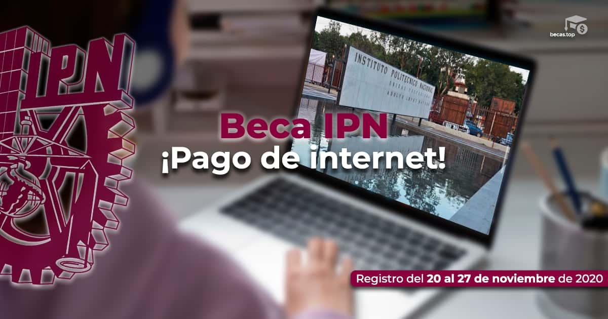 Regístrate para obtener la beca de conectividad IPN 2021