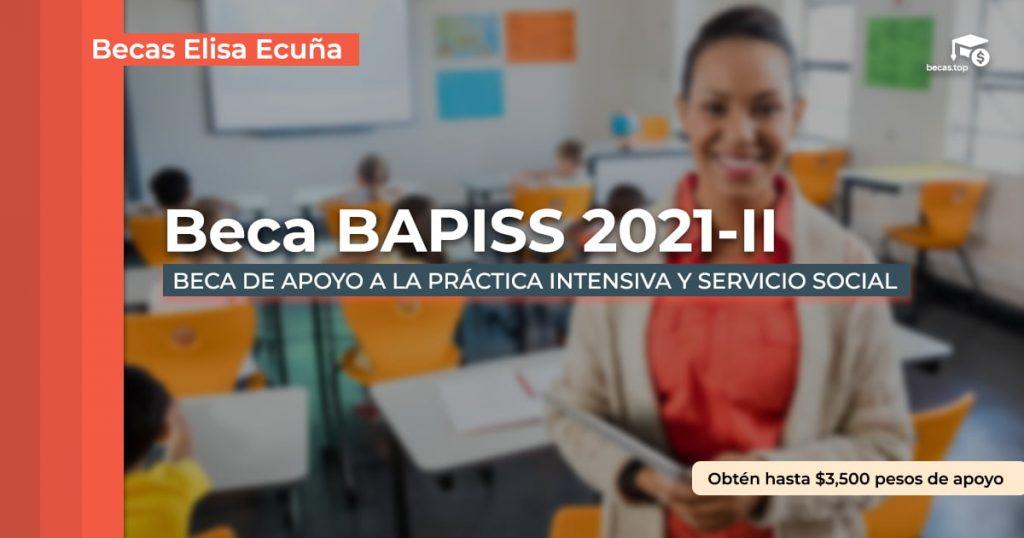 Registro BECA BAPISS 2021-II
